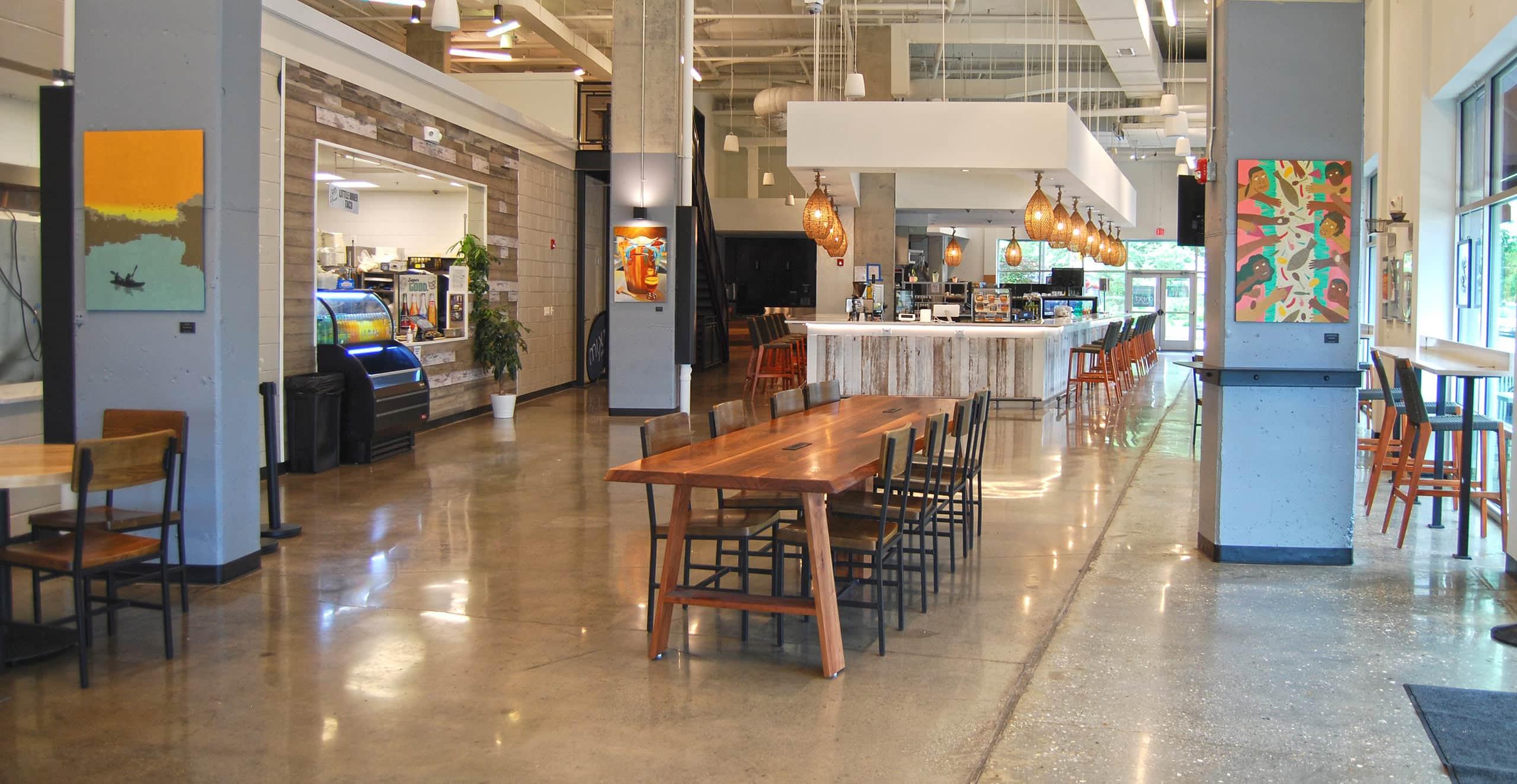 miXt Food Hall interior